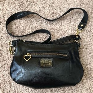 Coach Patent leather crossbody